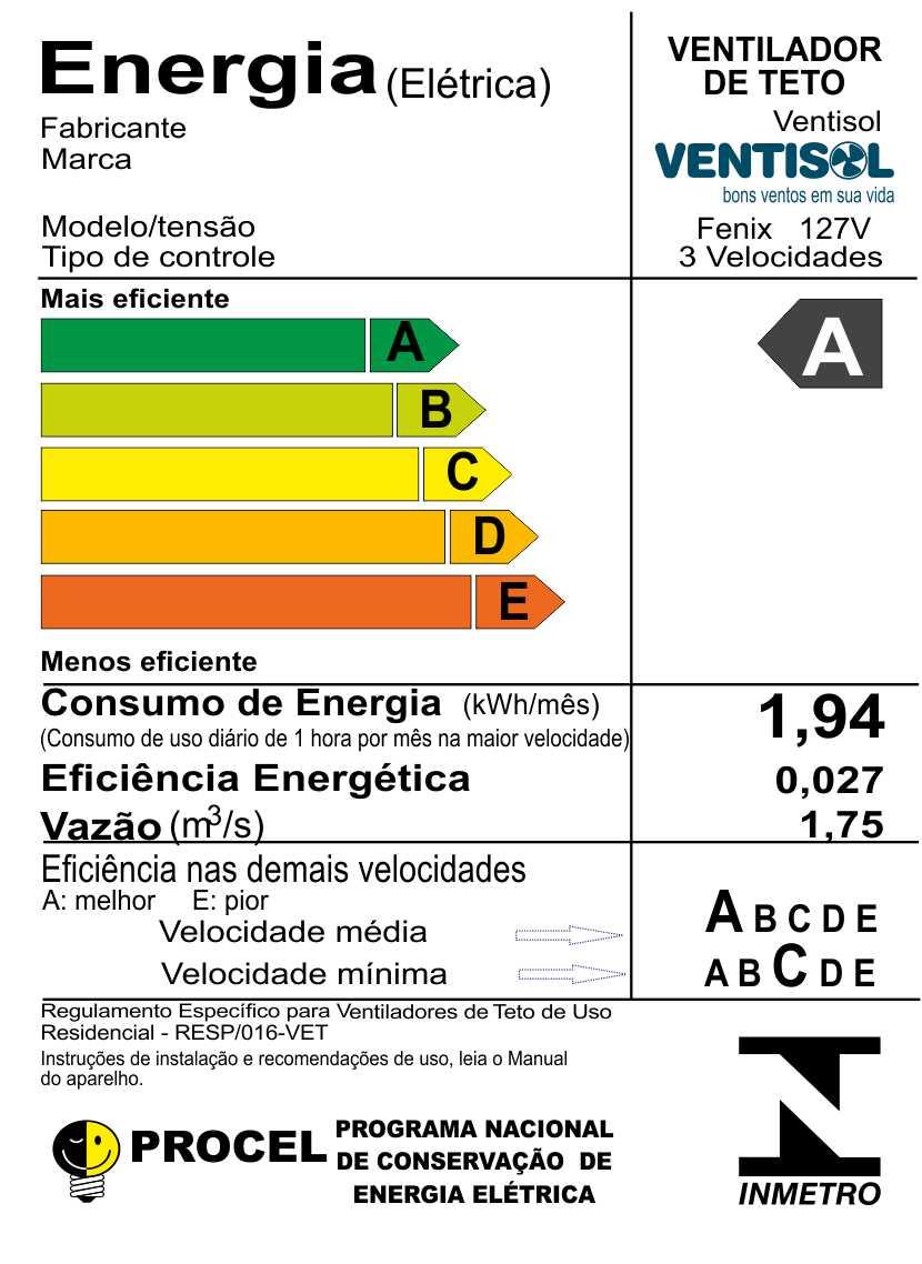 ffb9a1663 VENTILADOR DE TETO FÊNIX COM CONTROLE REMOTO – VENTISOL. Retornar. Novo.  lightbox · lightbox · lightbox